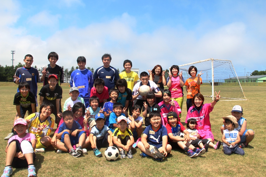 雄武町サッカー教室