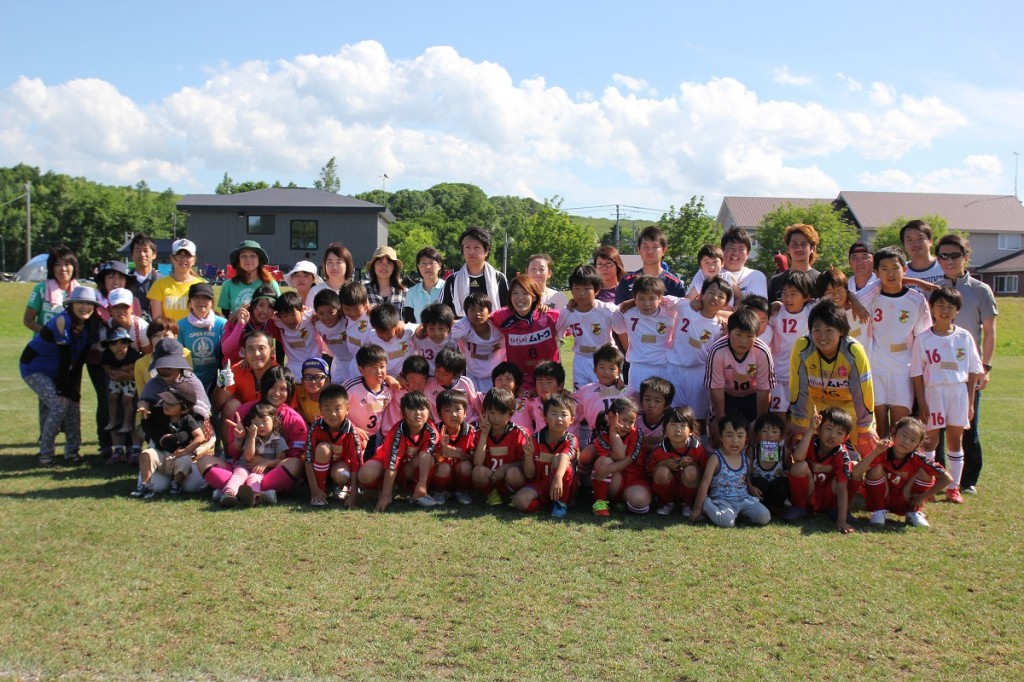 興部町サッカー教室